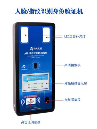 TR-400平板式居民身份证阅读器